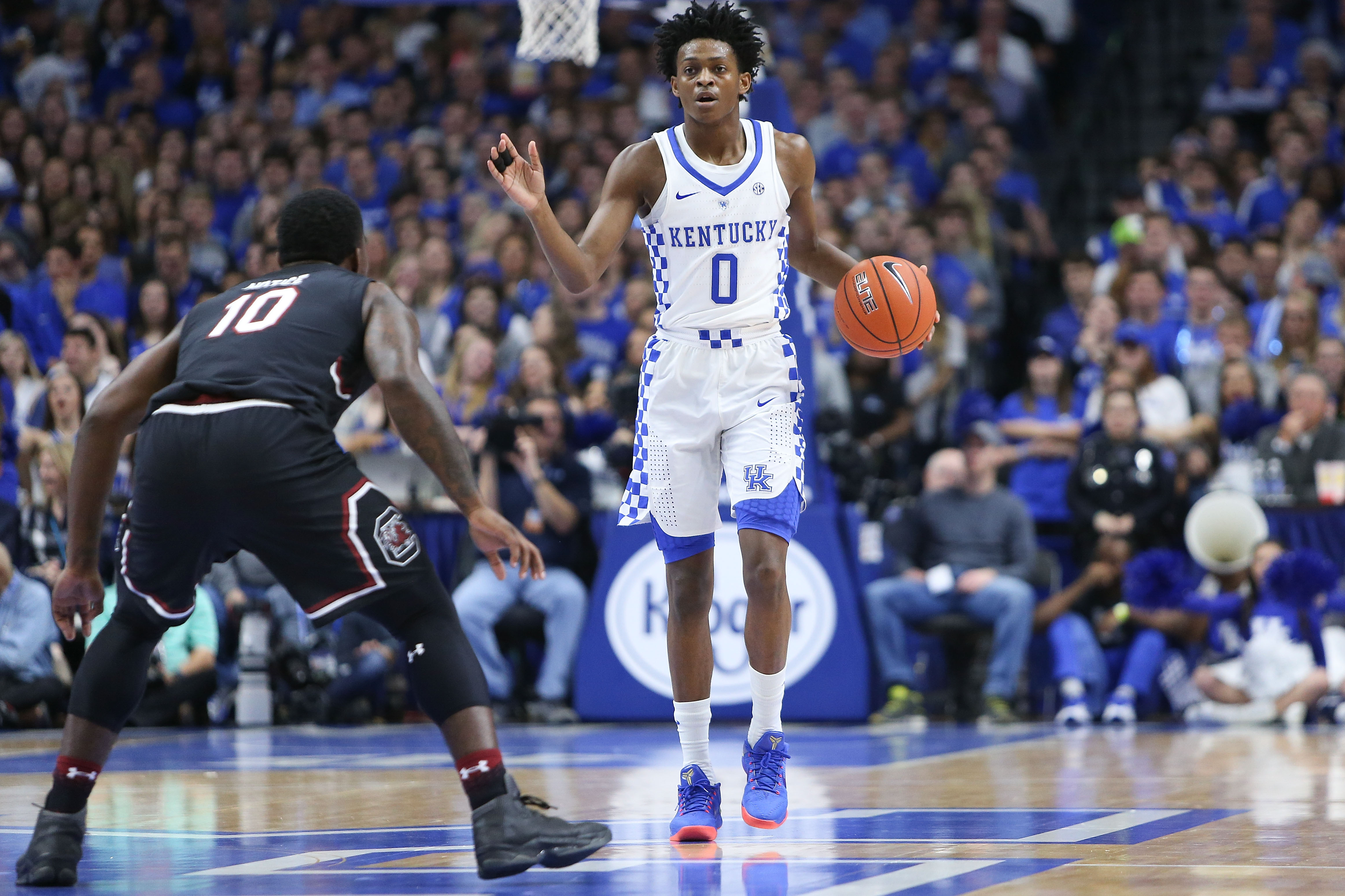 How Kentucky PG De'Aaron Fox Is Teaching Himself to Think ...