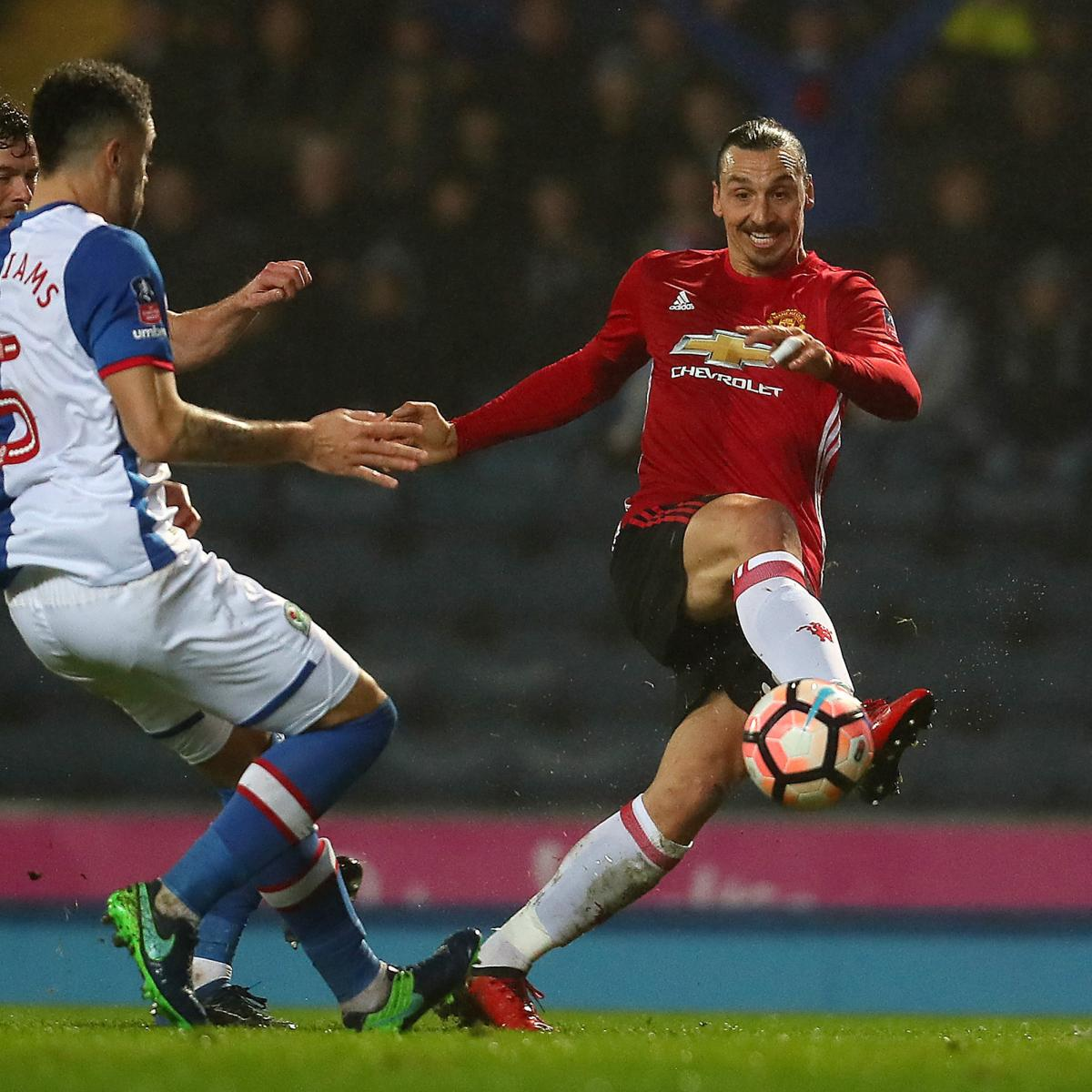 Manchester United 3 1 Huddersfield Result: FA Cup 2017: 5th-Round Results, Scores, Updated Schedule