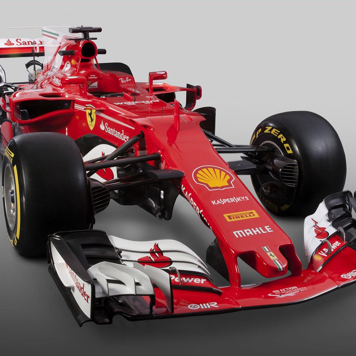 Ferrari Truck: Ferrari SF70H F1 Car Launch: 2017 Images And Details