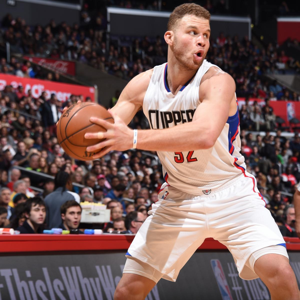 Clippers' Blake Griffin Records 8th Career 40-Plus-Point