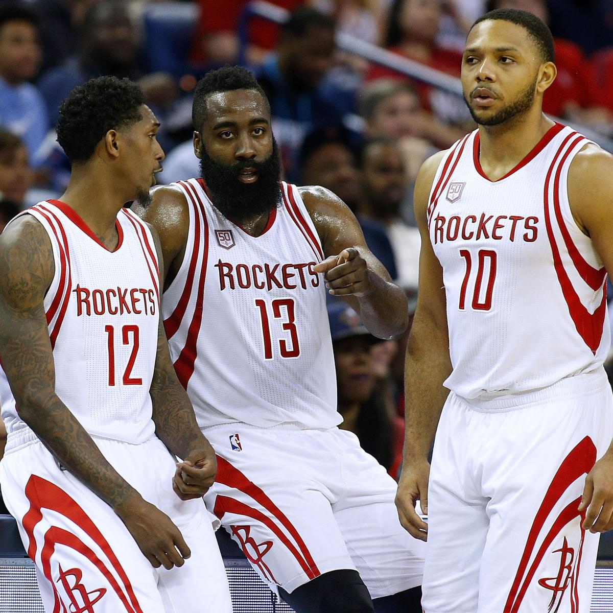 Houston Rockets Game Log: Houston Rockets Post Franchise-Record 48th Consecutive