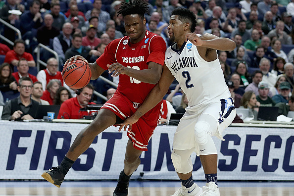 Why We Love College Basketball; Top seed Villanova ousted by Wisconsin in upset game