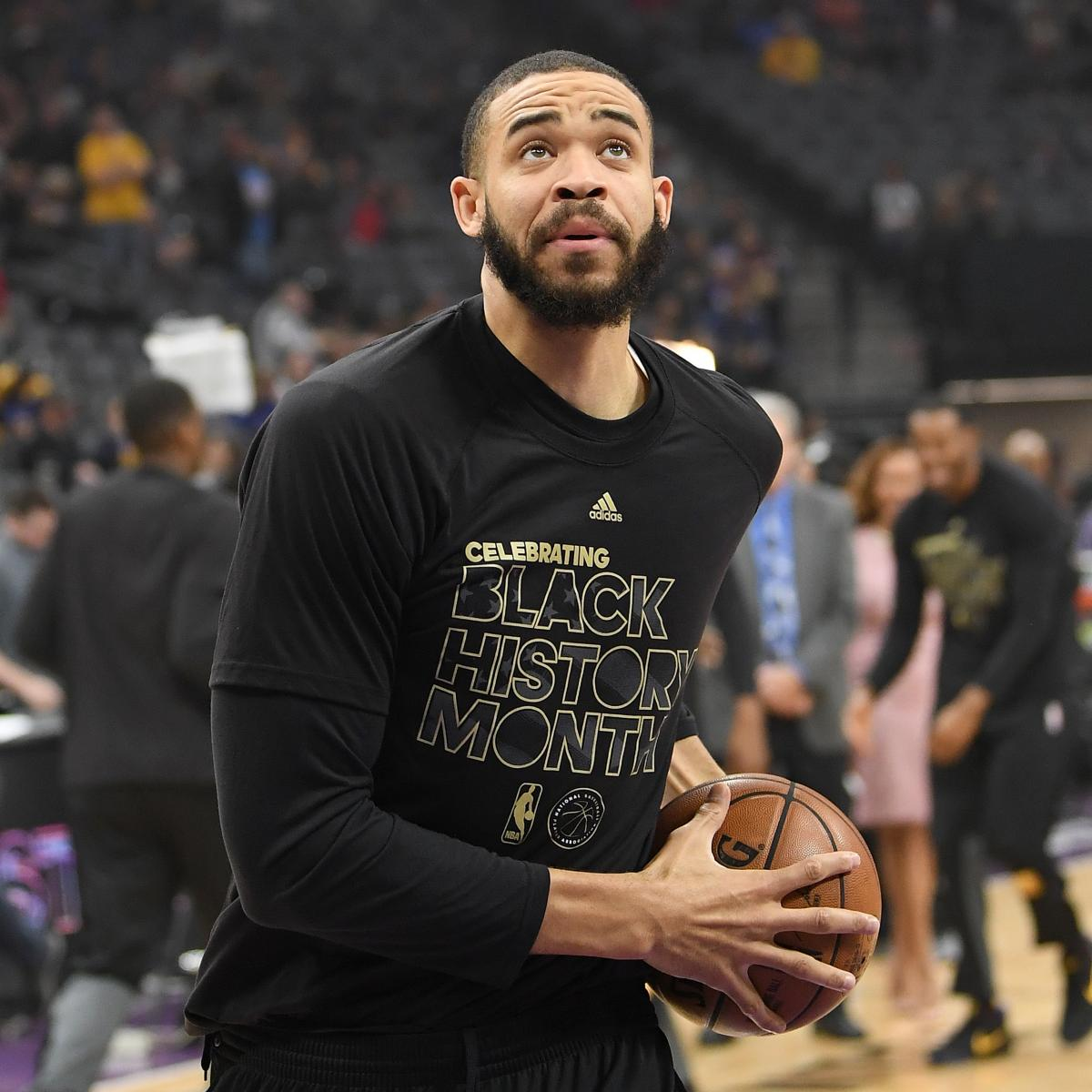 Warriors Players Put Javale Mcgee S Face On Sheet Of