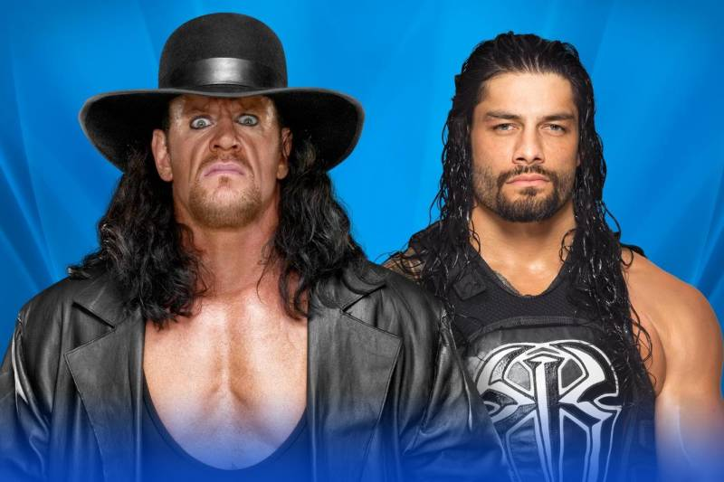 Roman Reigns Beats Undertaker at WWE WrestleMania as Deadman Appears To Retire