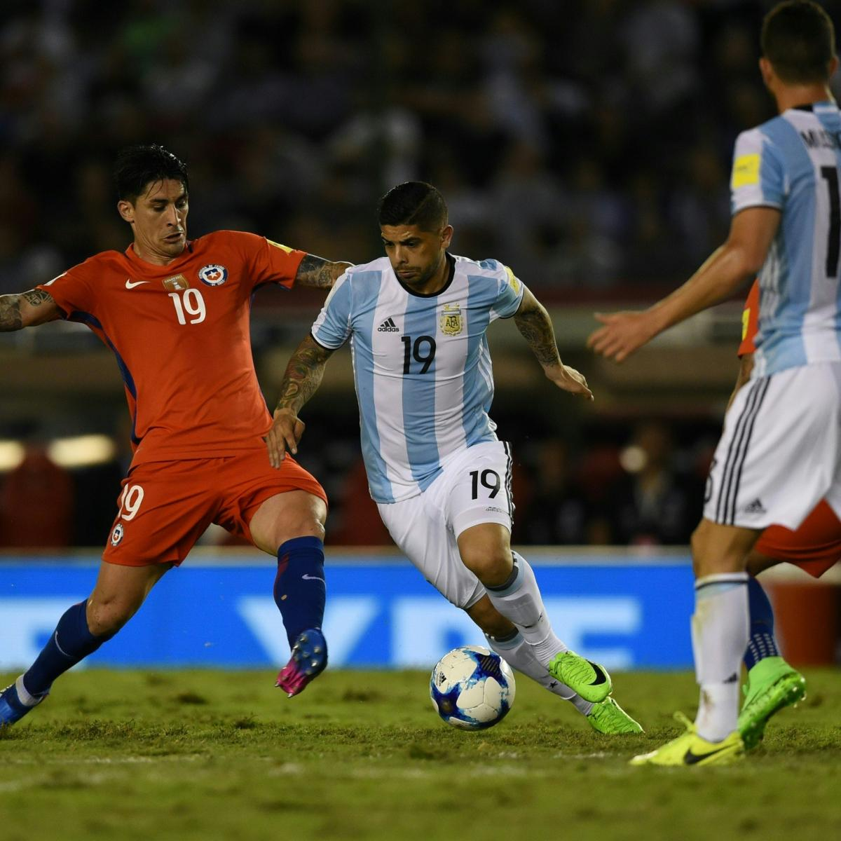 Argentina vs. Chile: Score and Reaction for World Cup 2018 ...