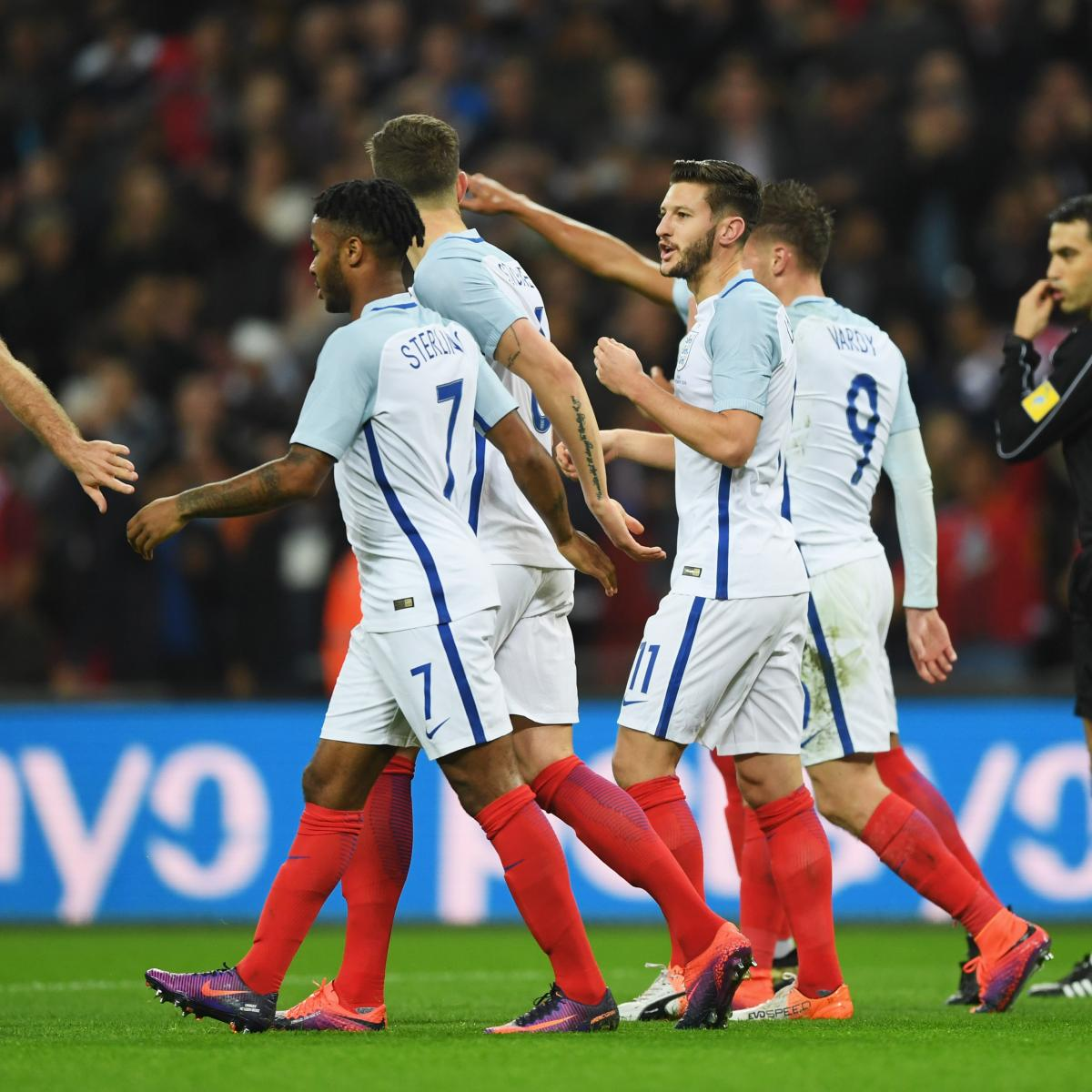 England Vs. Lithuania: World Cup 2018 Qualifying Live
