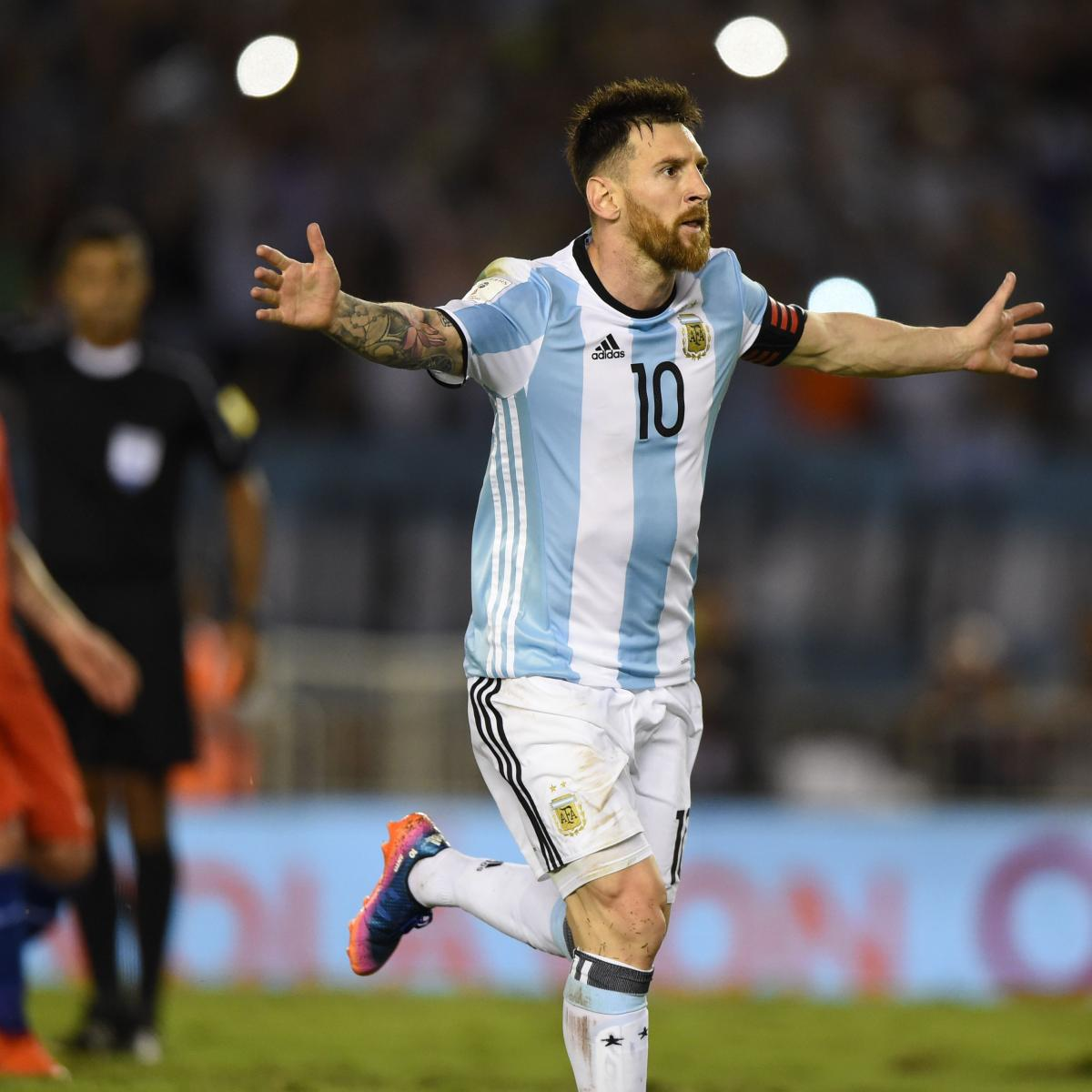 Bolivia vs. Argentina: World Cup 2018 Qualifying Live ...