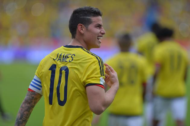 Colombia Captain James Rodriguez Has Reportedly Caused Controversy In His Homeland After Brandishing Middle Finger At Journalists