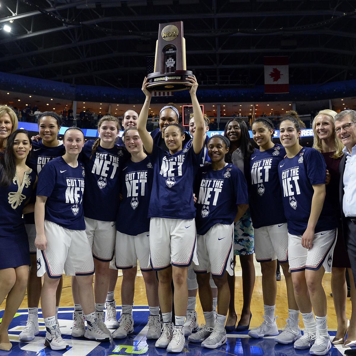 NCAA Women's Basketball Bracket 2017: Championship Odds ...