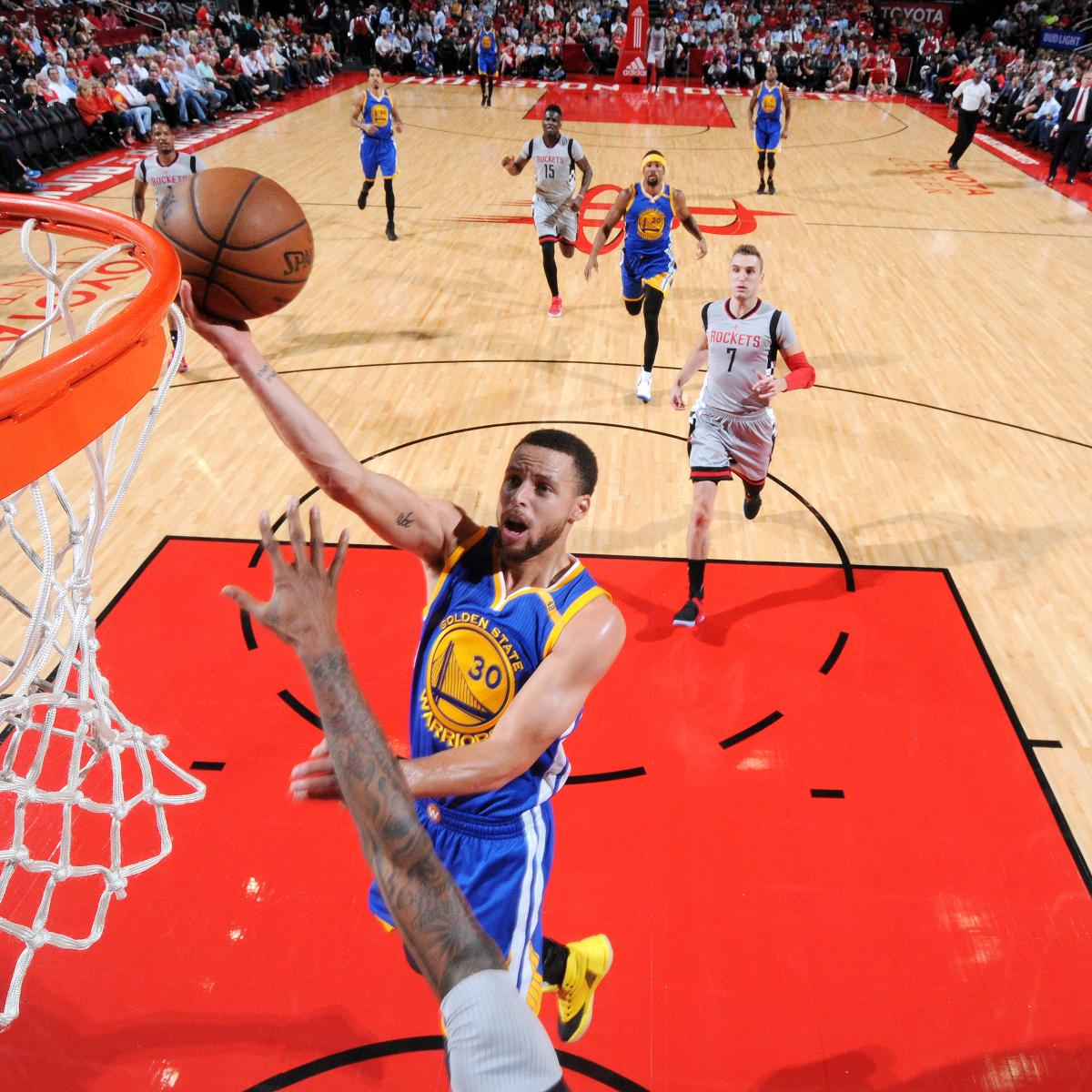 James Harden And Stephen Curry: Warriors Beat Rockets 113-106 As Stephen Curry Drops 32