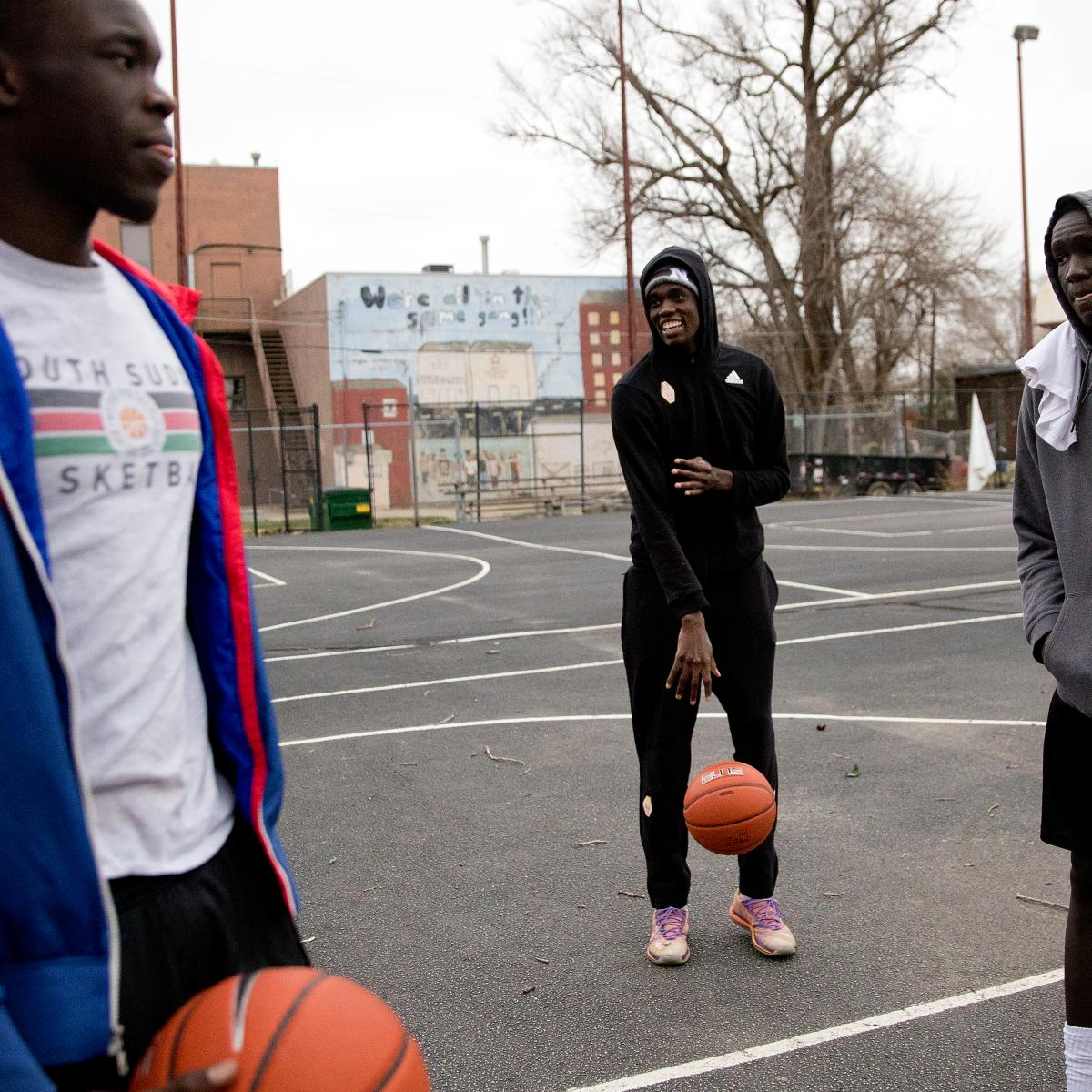 Refugee Hoop Dreams Do Come True—Right in the Middle of Trump's America | Bleacher Report