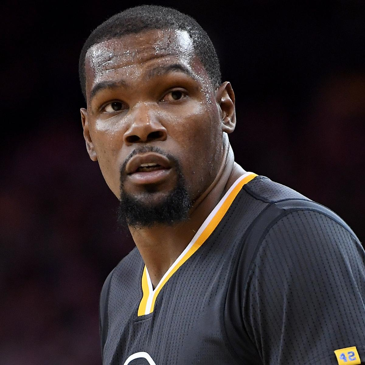 Warriors Kevin Durant Injury Update: Kevin Durant Questionable For Game 2 Vs. Trail Blazers