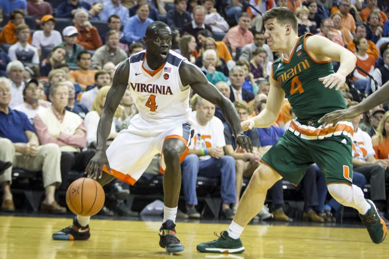 Marial shayok reportedly transferring from virginia to iowa state charlottesville va february 20 marial shayok 4 of the virginia cavaliers is publicscrutiny Images