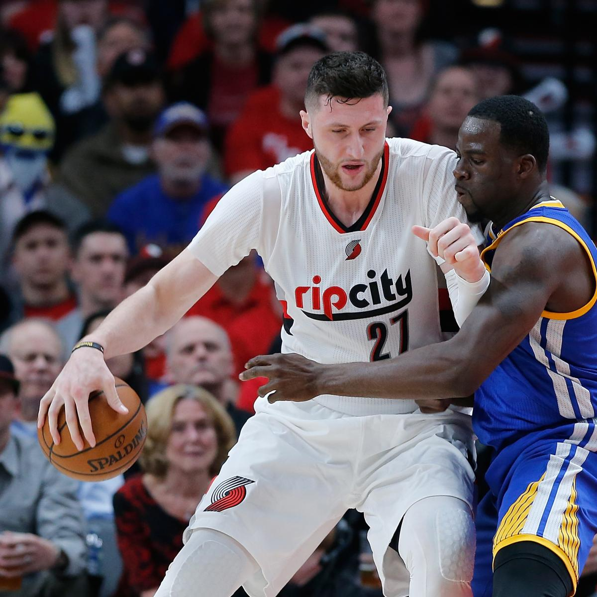 Jusuf Nurkic Out For Game 4 Of Warriors Vs. Blazers With