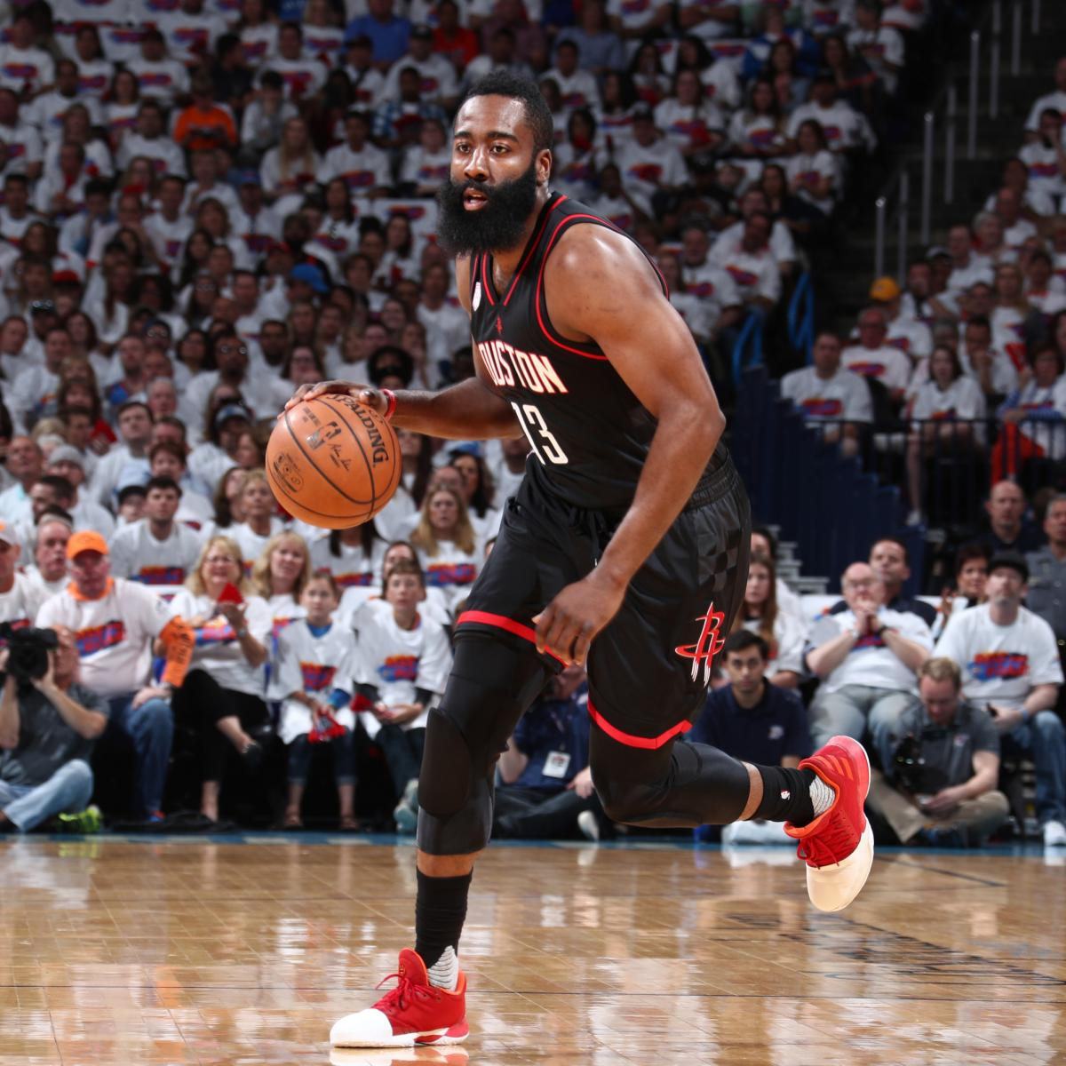 James Harden Injury Report: James Harden Reveals Ankle Injury After Rockets' Game 4