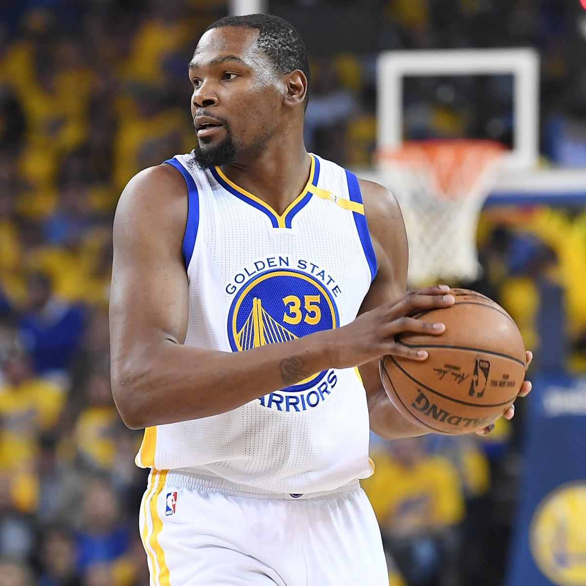 Blazers Injury Report: Kevin Durant Active For Game 4 Of Warriors Vs. Blazers