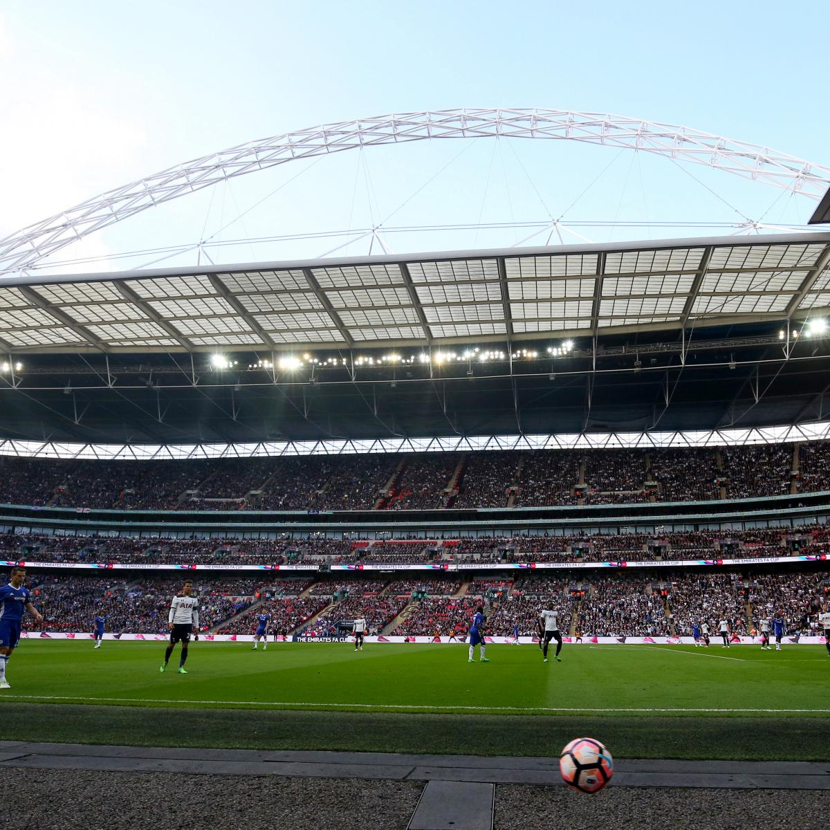Tottenham Hotspur Ticket Office: Tottenham To Play 2017-18 Home Games At Wembley Stadium