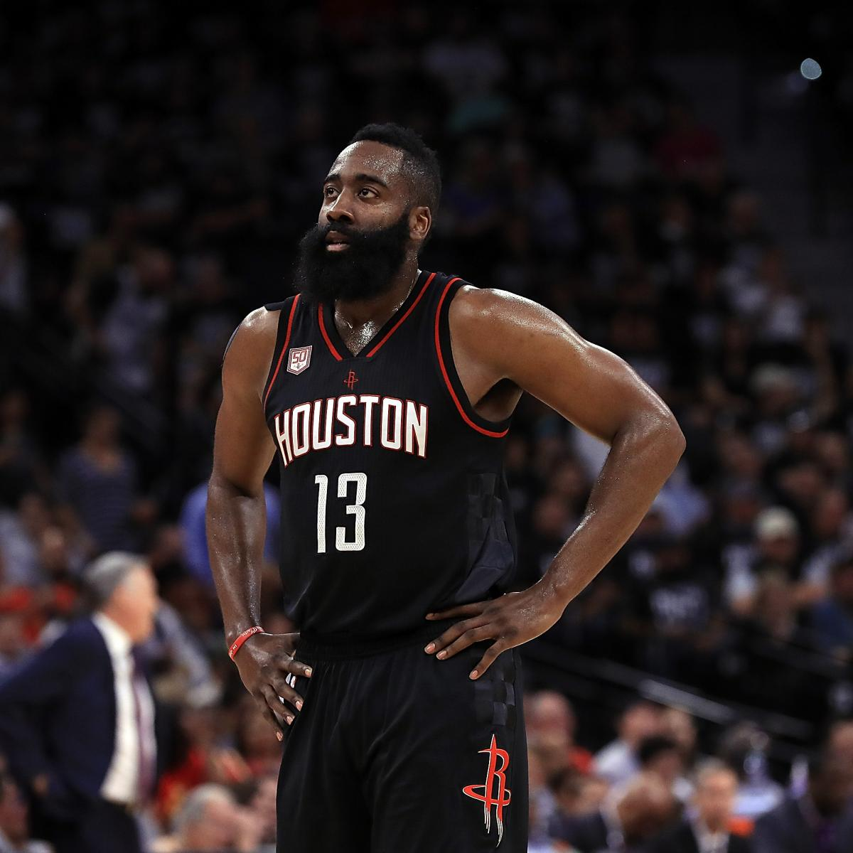 James Harden Total Points: Houston Rockets Win By Historic Margin In Game 1 Over San