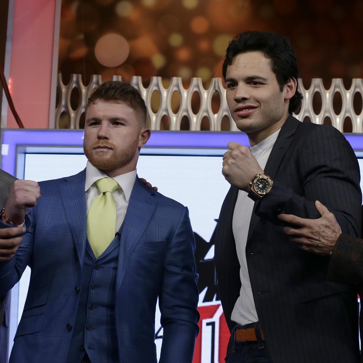 Boxing Odds: Canelo Alvarez Vs. Julio Cesar Chavez Jr