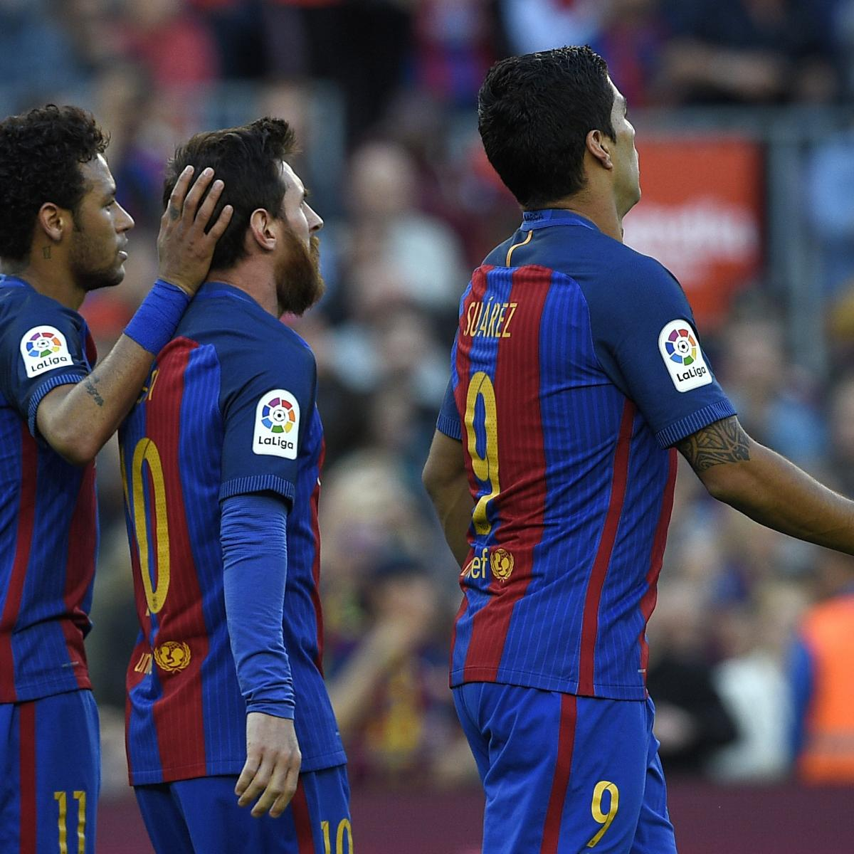 La liga results 2017 scores and updated table after saturday 39 s week 36 matches bleacher - La liga latest results and table ...