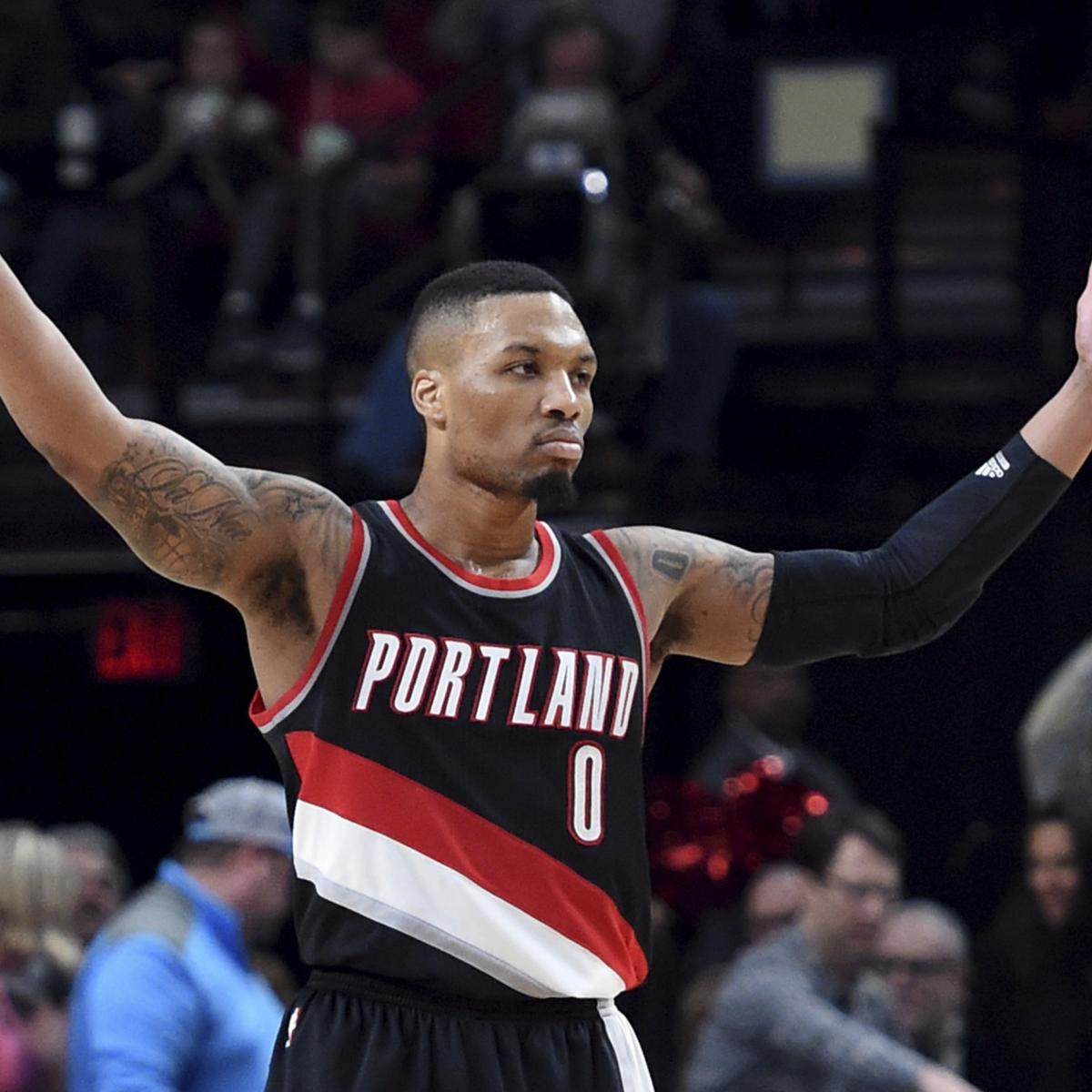 Portland Blazers Schedule: Portland Trail Blazers Reveal New Logo For 2017-18 Season