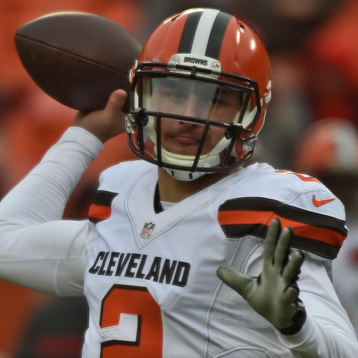 Johnny Manziel Working Out with Wyoming QB Josh Allen Amid ...
