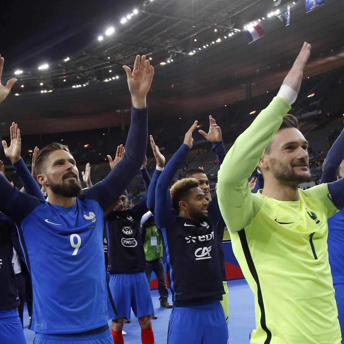 Picking France's 2018 World Cup Squad After End of Qualification Campaign
