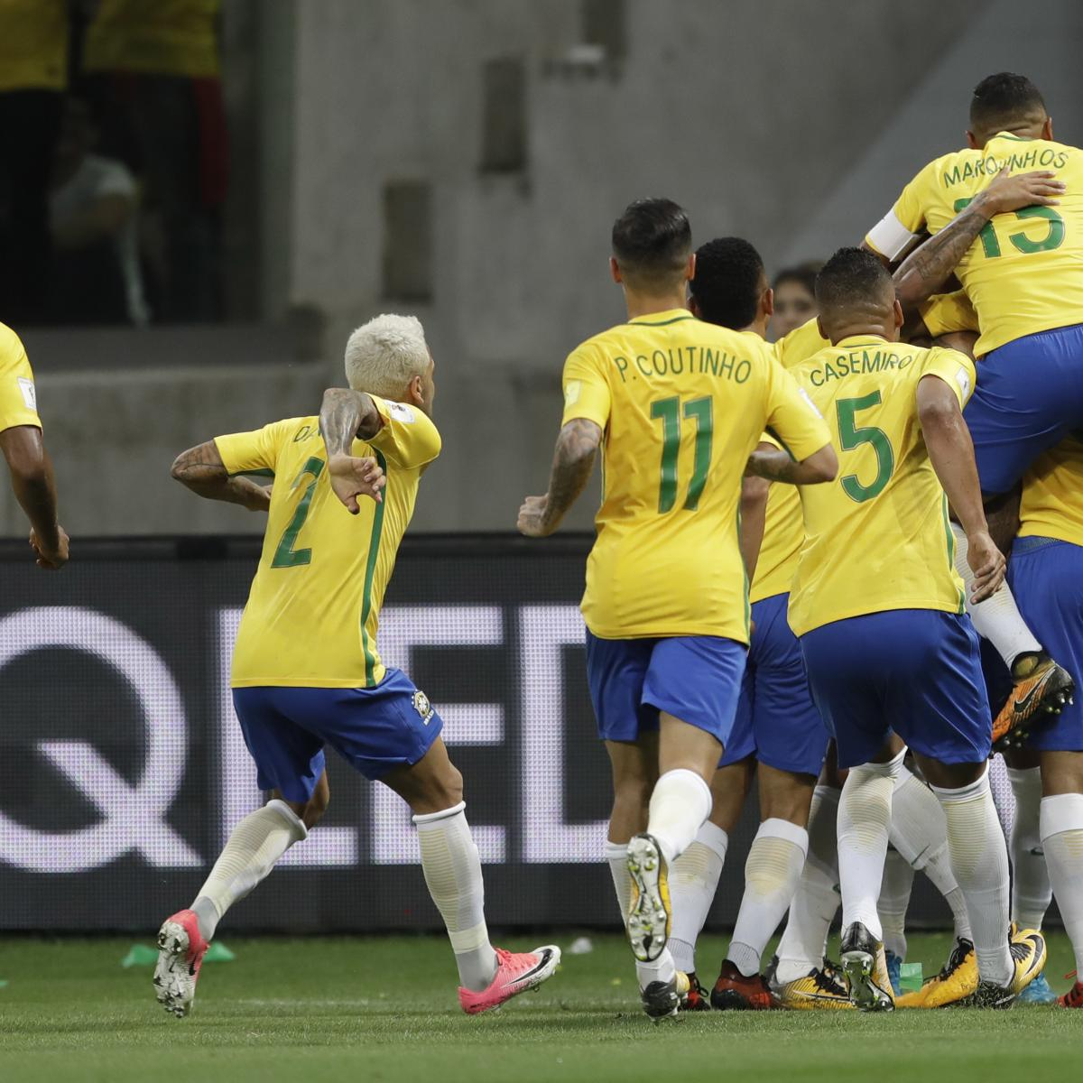 Brazil Prevent Chile from Qualifying for 2018 World Cup with 3-0 Win