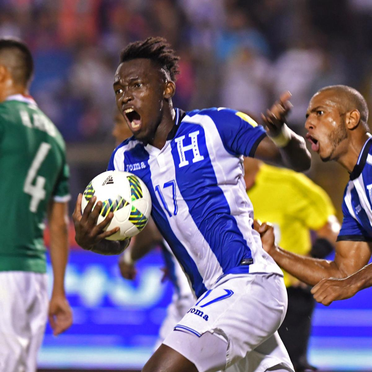Honduras Defeats Mexico to Qualify for 2018 World Cup Playoff vs. Australia