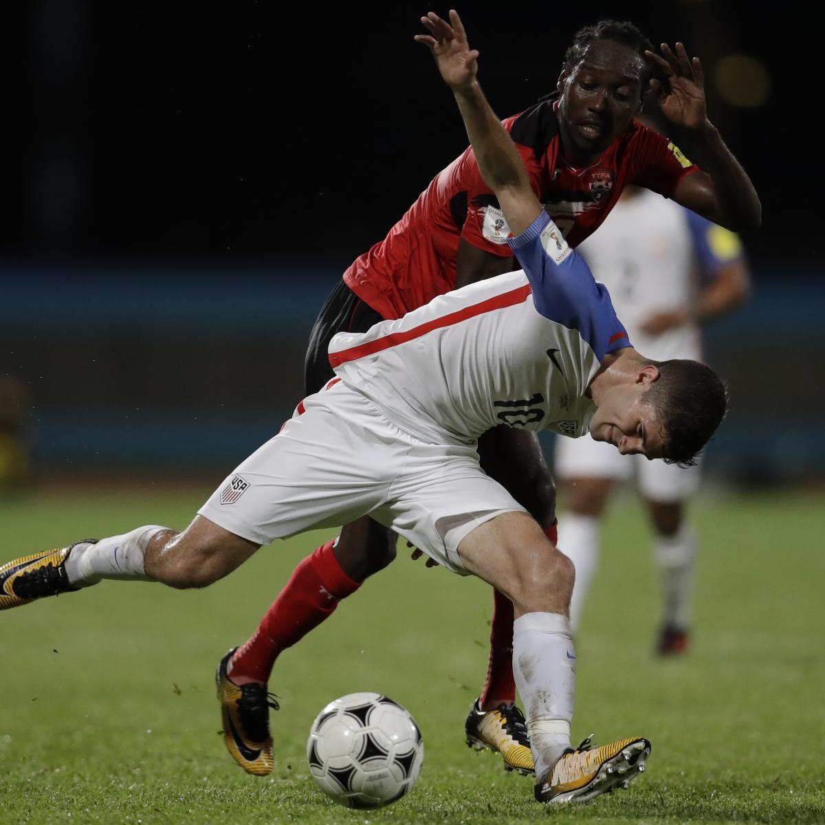 USA Fails to Qualify for 2018 World Cup with 2-1 Loss to Trinidad and Tobago