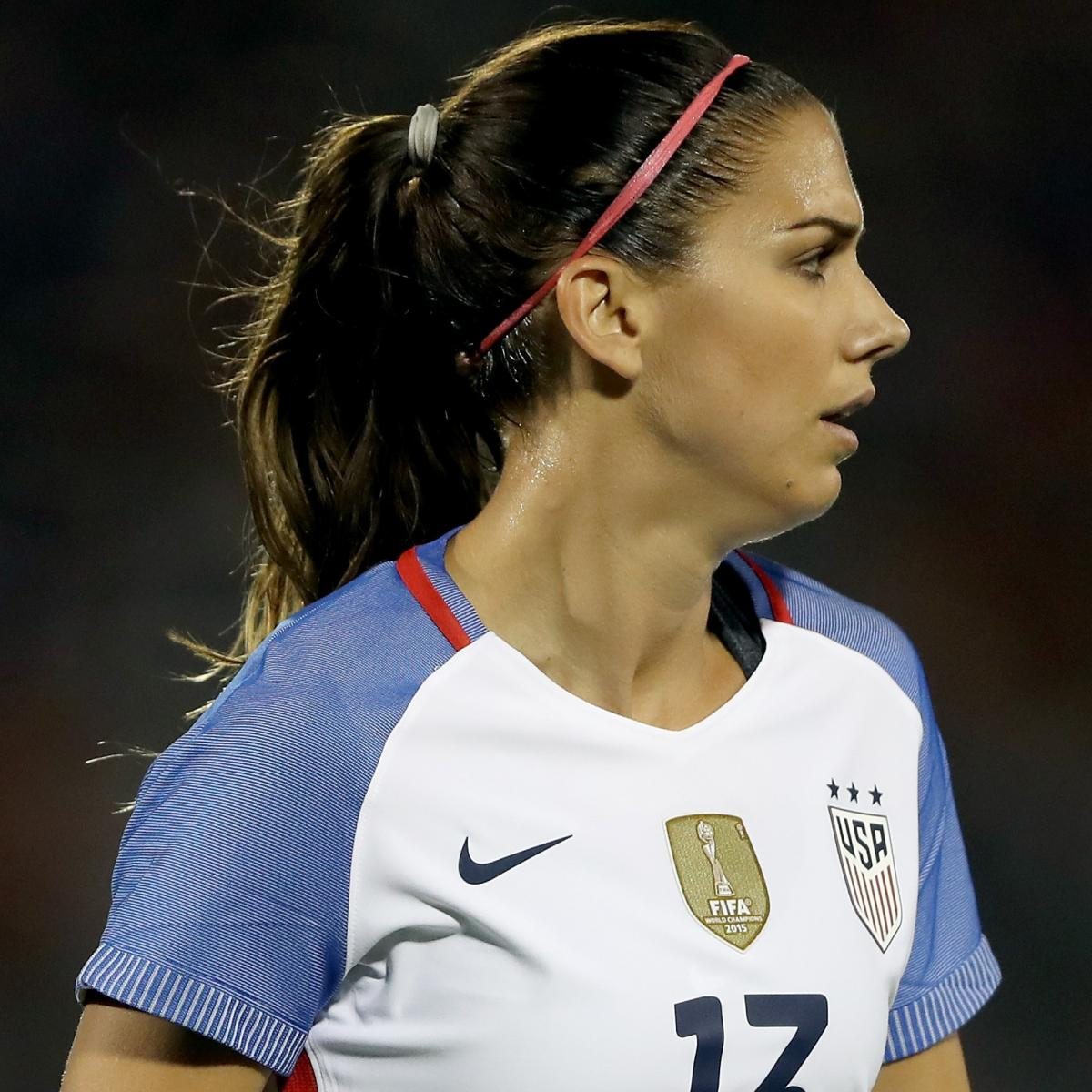 TMZ Obtains Police Video of Alex Morgan After Being Escorted out of Epcot Center