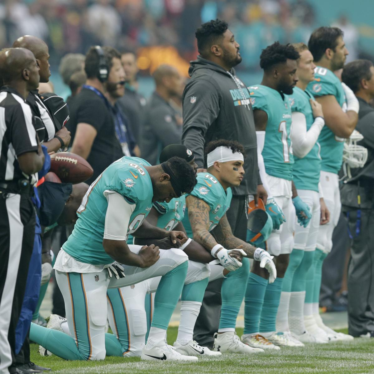 Truce with Union May Bring NFL Peace, but There's No Escaping Politics Anymore