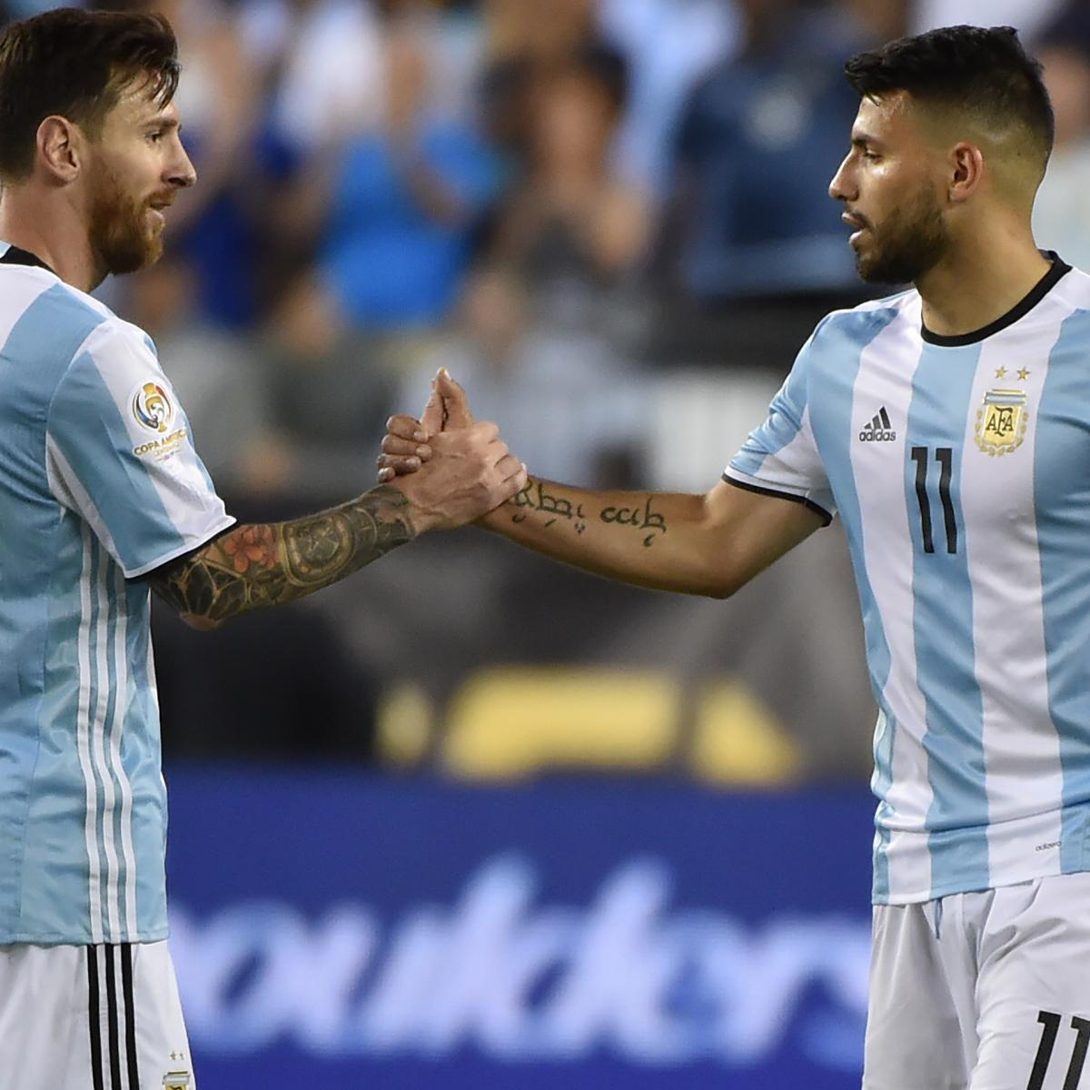 Lionel Messi to Manchester City Would Be 'Complicated,' Says Sergio Aguero