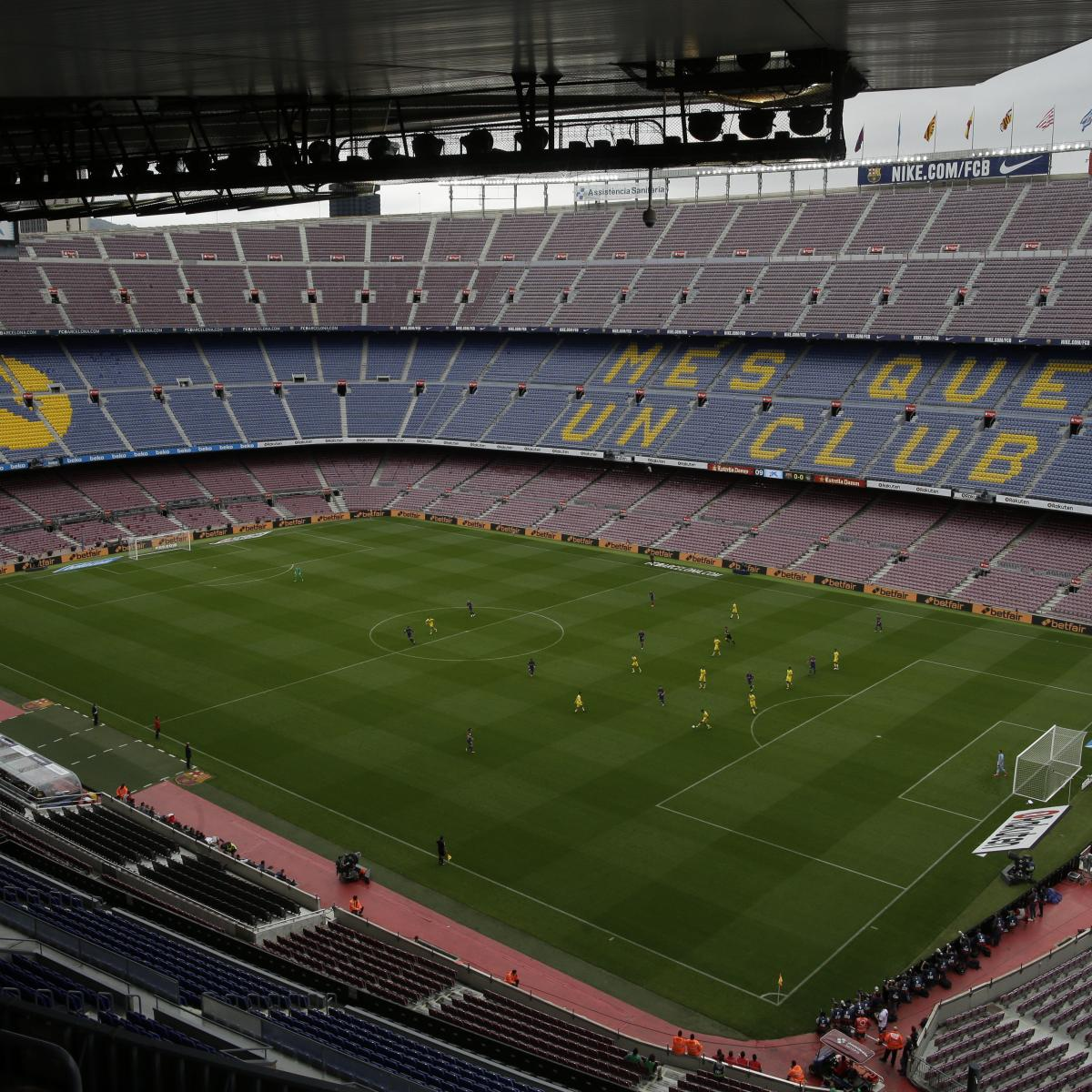 Barcelona Reportedly Hoping to Generate over €200M by Renaming Camp Nou