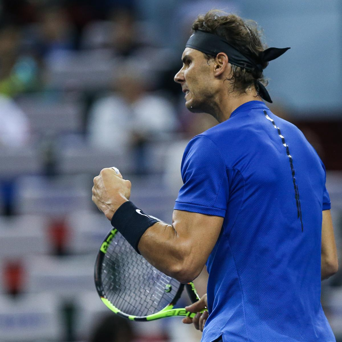 Rafael Nadal's Win Highlights Thursday's 2017 Shanghai Rolex Masters Results