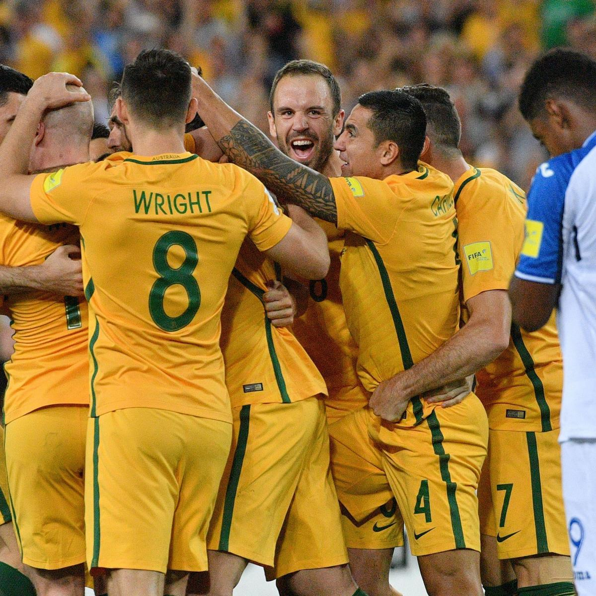 World Cup 2018 Qualifying: Australia Qualifies for Tournament in Wednesday Play
