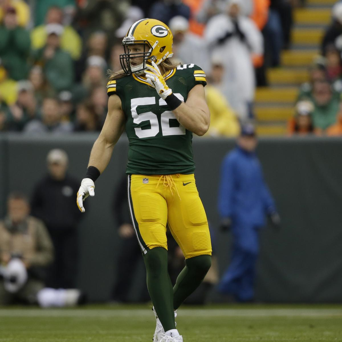 Clay Matthews Reportedly Underwent Surgery for Knee Injury 'Cleanup'