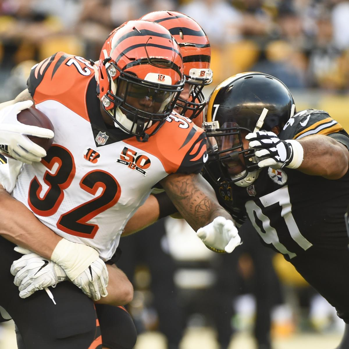 7 Keys to Victory in Pittsburgh Steelers' MNF Matchup with Cincinnati Bengals