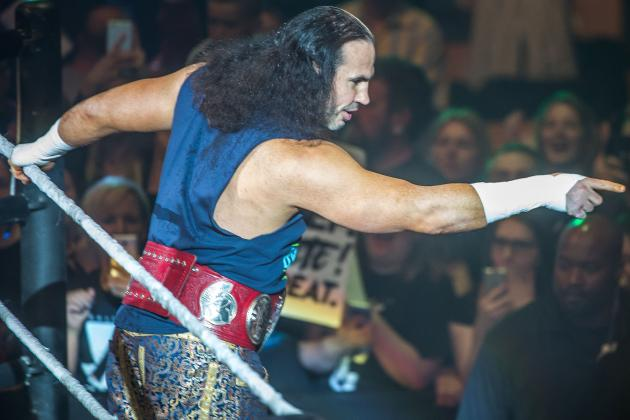 WWE Debut of Woken Matt Hardy Lived Up to the Hype