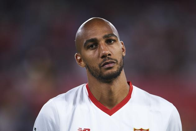 Steven N'Zonzi Reportedly Flies into London for Arsenal Transfer Talks