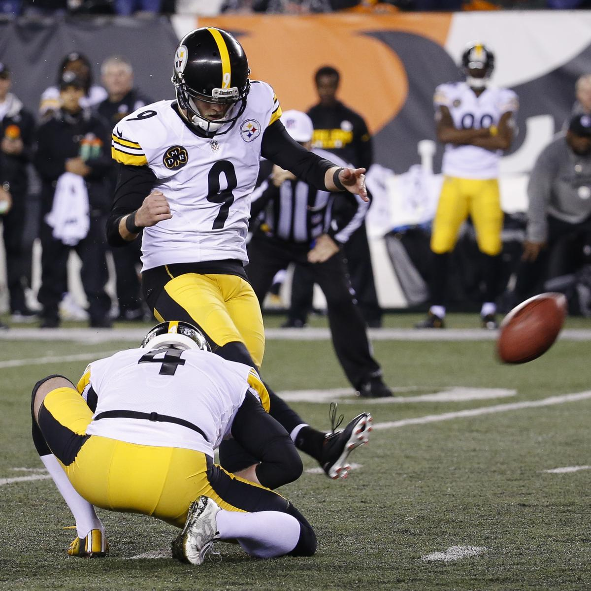 Chris Boswell Says Bengals Tried to Injure Him Before Game-Winning Field Goal