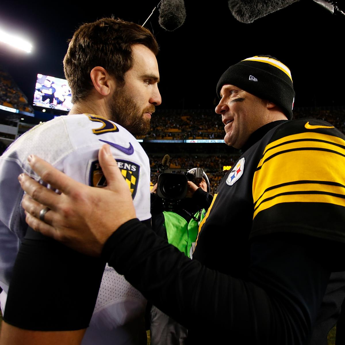 Ben Roethlisberger: Bengals-Steelers Doesn't Have Same Respect as Ravens Rivalry