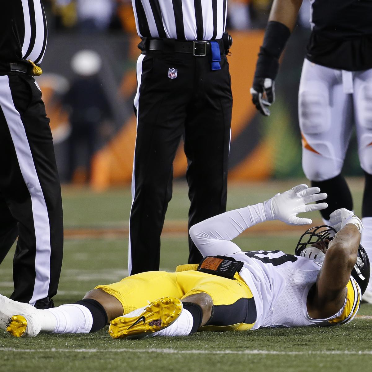 Ryan Shazier Transported to Pittsburgh Hospital as Tests, Evaluations Continue