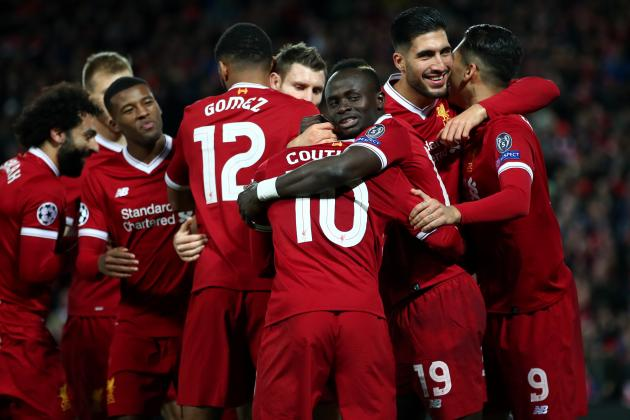 Power Ranking Every Player for Liverpool in 2017 Champions League Group Stage