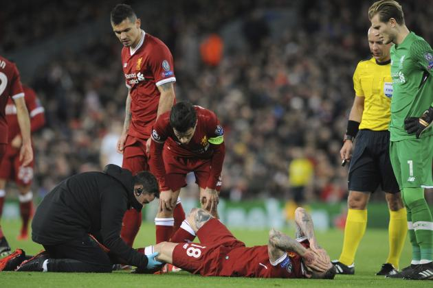 Alberto Moreno Injury a 'Little Shadow' on 7-0 Spartak Win, Says Jurgen Klopp