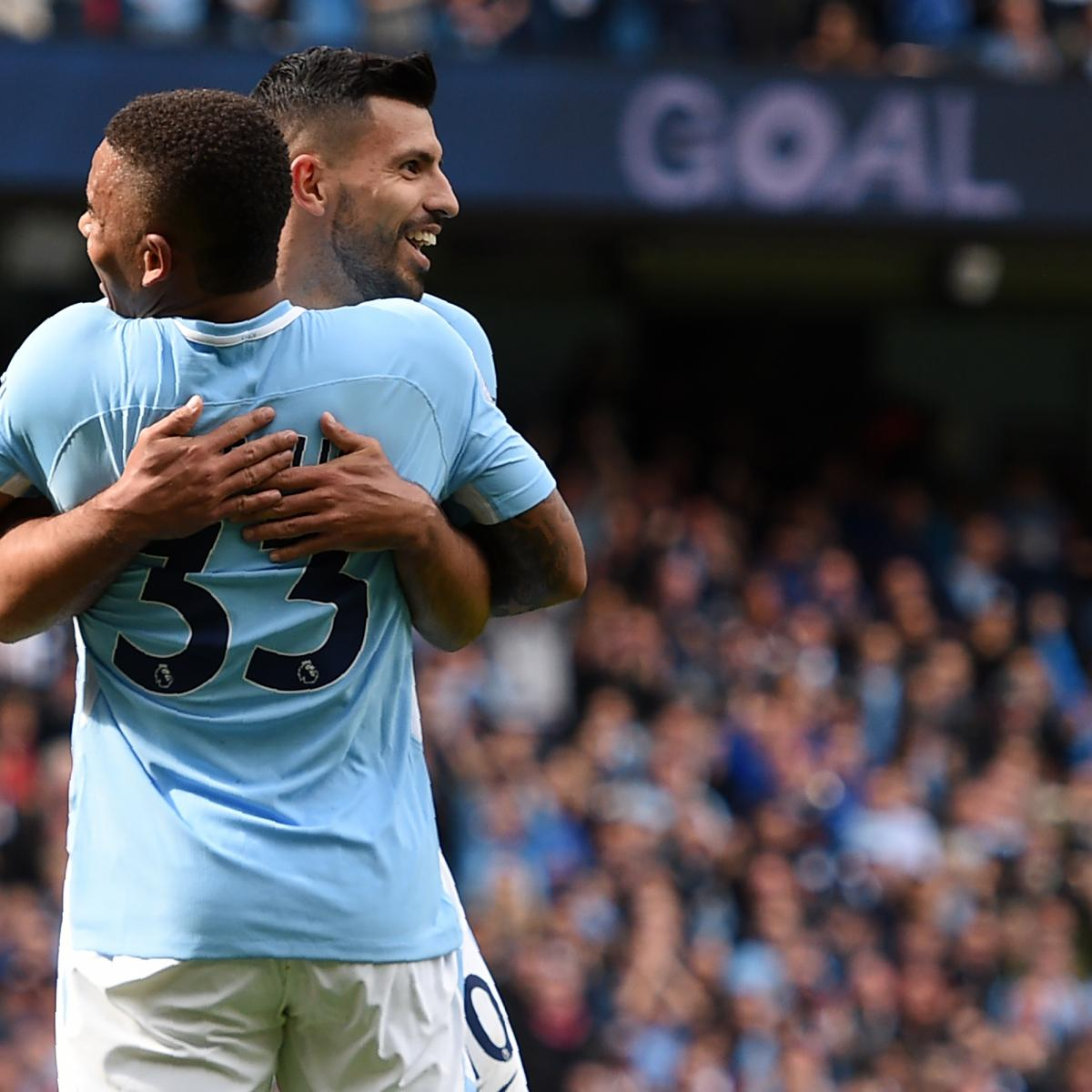 Can Gabriel Jesus and Sergio Aguero Play Together for Manchester City?