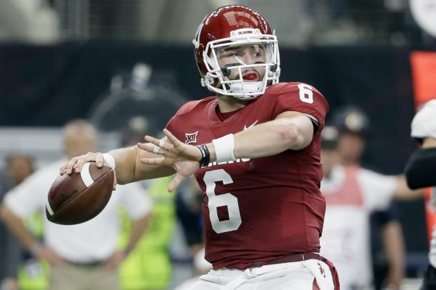 Baker Mayfield Tops Bryce Love, Wins 2017 AP College Football Player of the Year