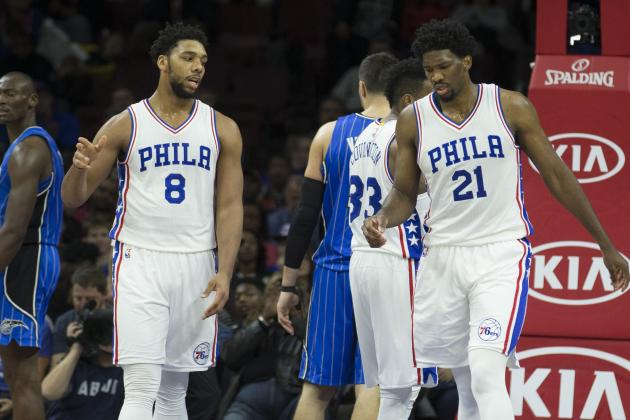 Joel Embiid to Jahlil Okafor: 'I Love You' and Will 'Kick Your Ass' After Trade