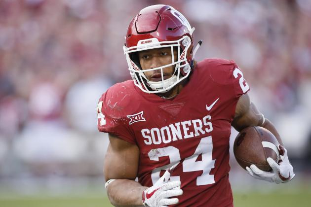 Oklahoma RB Rodney Anderson Won't Have Charges Filed After Rape Allegation