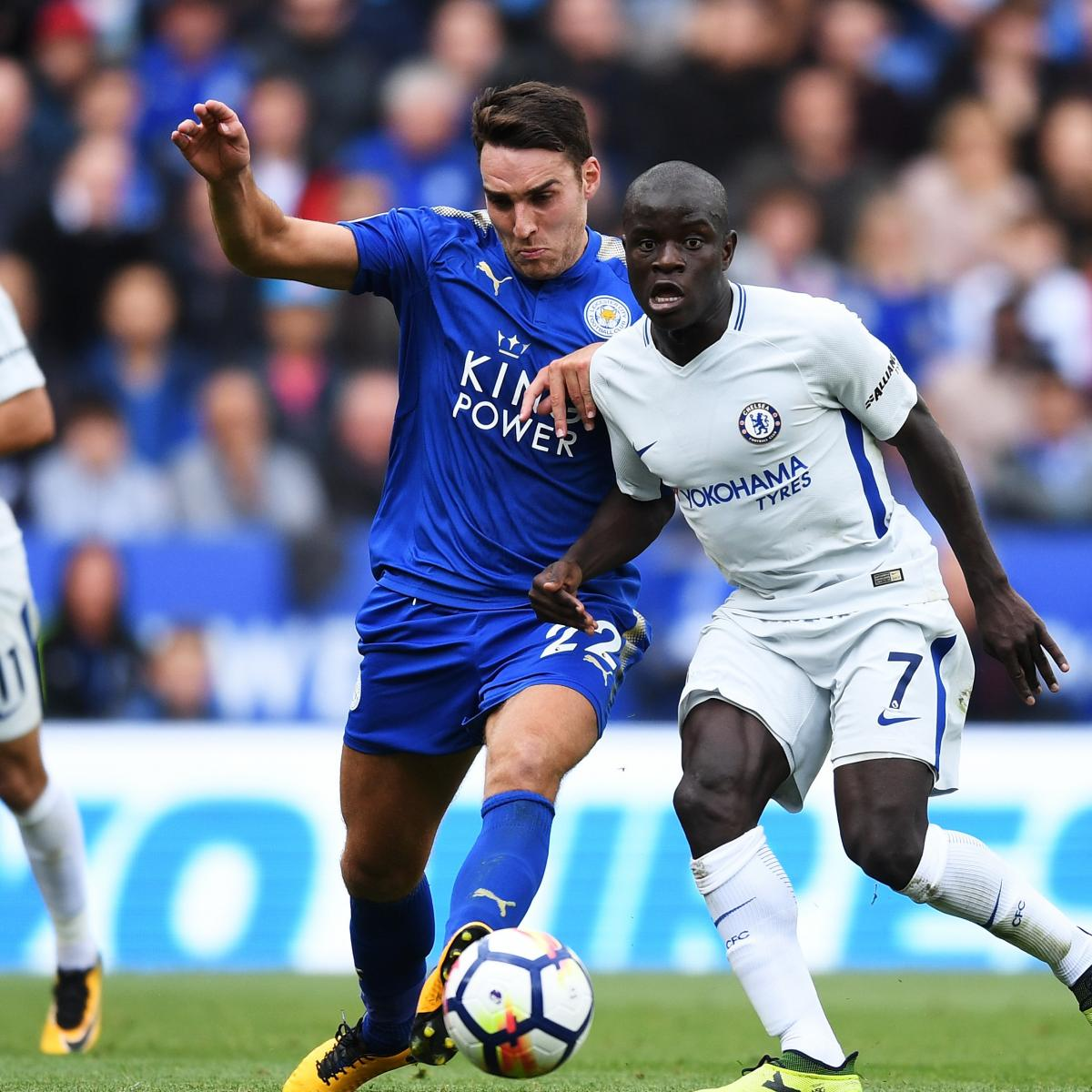 Chelsea vs. Leicester City: Team News, Preview, Live Stream, TV Info